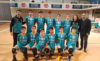 Los JDM de voleibol, en marcha