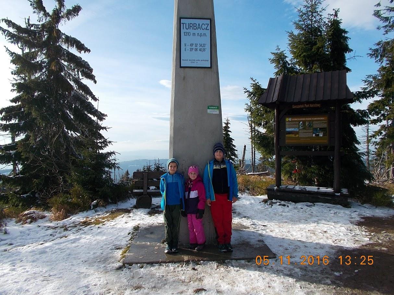 Wycieczka na Turbacz z Koninek
