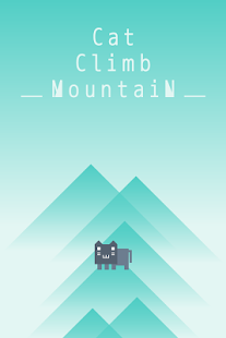 Jump Game -Cat Climb Mountain-- screenshot thumbnail