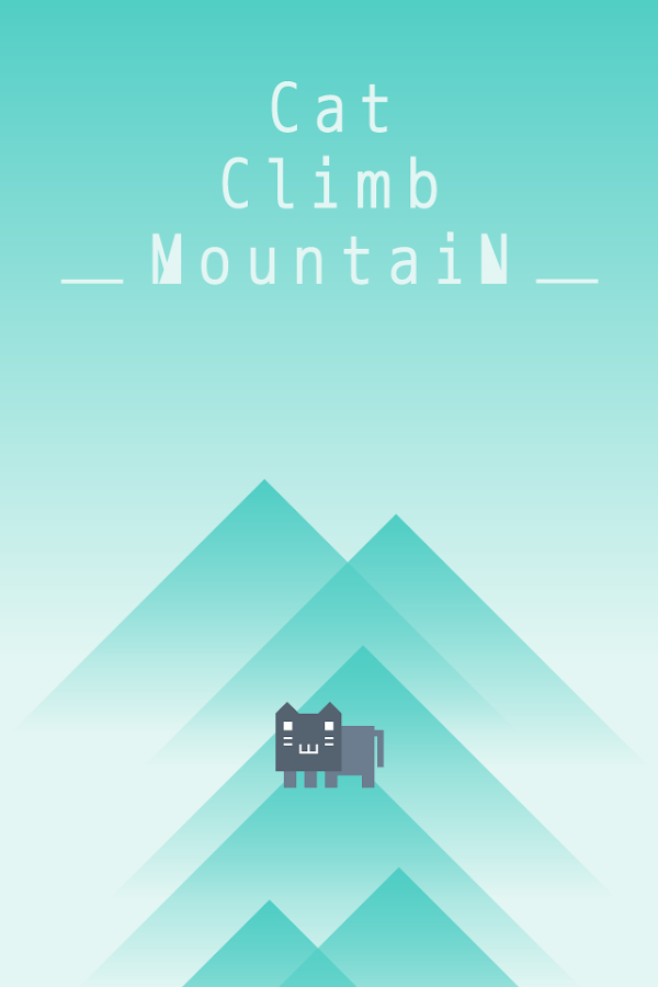Jump Game -Cat Climb Mountain-- screenshot