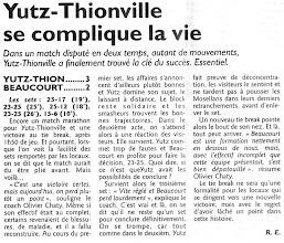 Photo: 25-03-2012  Yutz-Thionville - Beaucourt-Sochaux 3-2