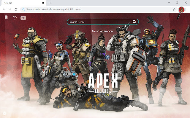 Apex Legends HD Wallpapers New Tab Theme