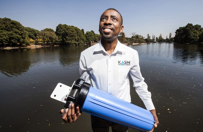 Kusini Water uses macadamia nuts to purify water.