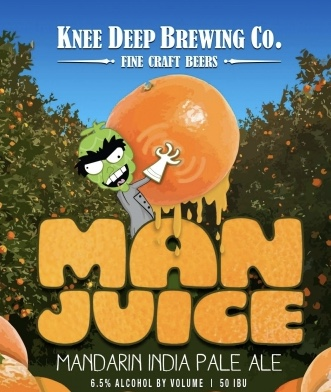 Logo of Knee Deep Man Juice IPA