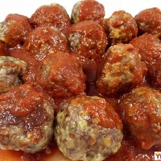 Easy Parmesan Pork Meatballs Recipe
