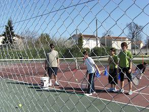 Photo: tennis en famille !