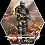 Sniper Fury Assassin Gun Killer 3D Shooting Games Icon