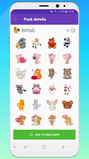 ? WeLove : love stickers (WAStickerApps) 2.2 screenshots 8