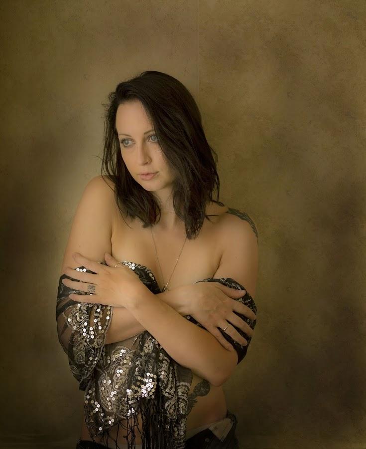 Ashley by Jim Oakes - People Portraits of Women ( studio, beauitful, window light, model, female )