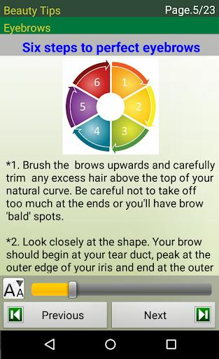 Beauty Tips screenshot