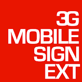 3G Mobile Sign Ext