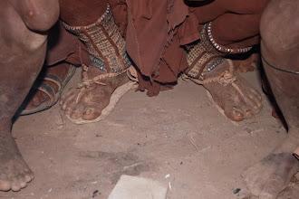 Photo: Himba feet / Nohy slavné Himby