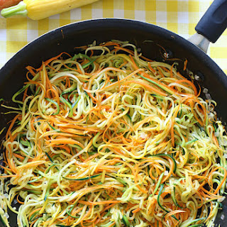 Sauteed Julienned Summer Vegetables Recipe