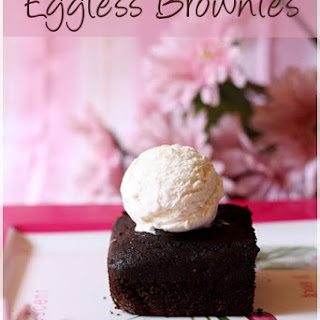 Eggless Brownies.