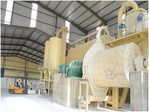 nhà máy sản xuất đá vôi