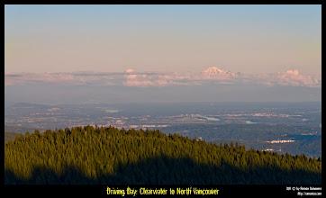 Photo: Desde lo alto de Grouse Mountain, se podían ver las inmensas Purcell Mountains.