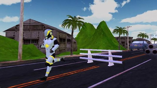 Robo Runner Game screenshot 1