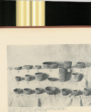 Photo: Wooden bowls and cups from Gilliland's Key Marco book. One of the first spectacular Florida wet sites discovered. Frank Cushing originally discovered and reported on the site http://www.anthro.fsu.edu/pdf/cushing1896.pdf