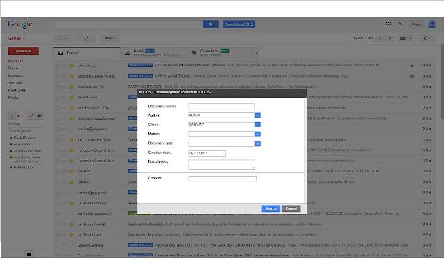 eDOCS Integration Solution & Gmail™
