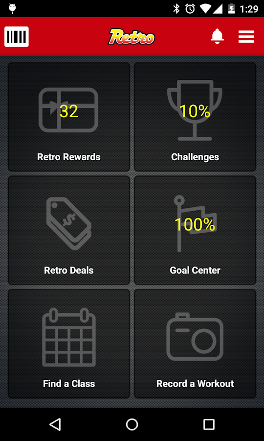 Retro Fitness- screenshot