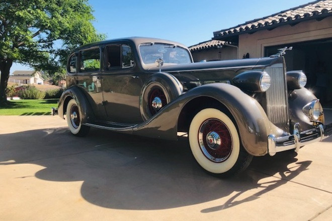1935 Packard 1203 Hire CA 92028