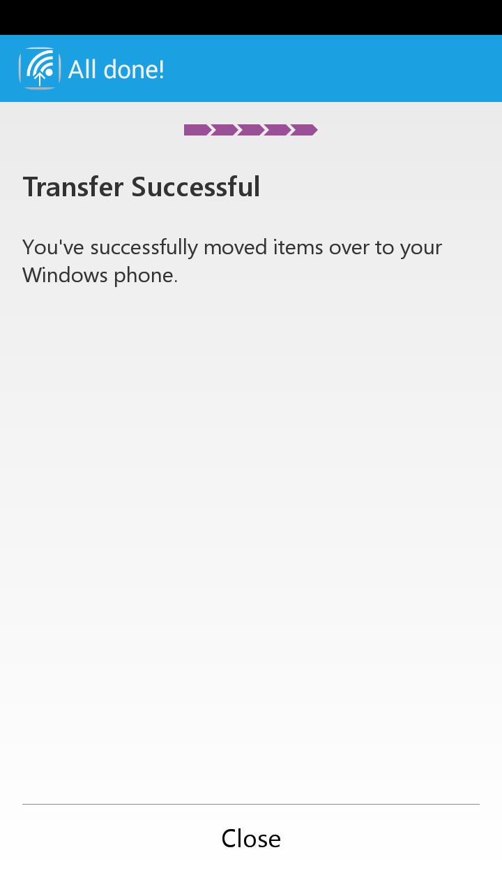 Switch to Windows Phone screenshot #7