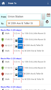 Denver Transit Info screenshot 4