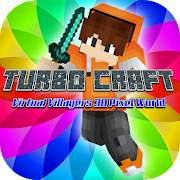 Epic Turbo Craft: Virtual Villagers 3D Pixel World APK