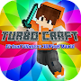 Epic Turbo Craft: Villageois virtuels 3D Pixel World APK icon