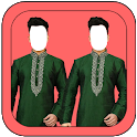 Latest Men Twin Photo Suit icon