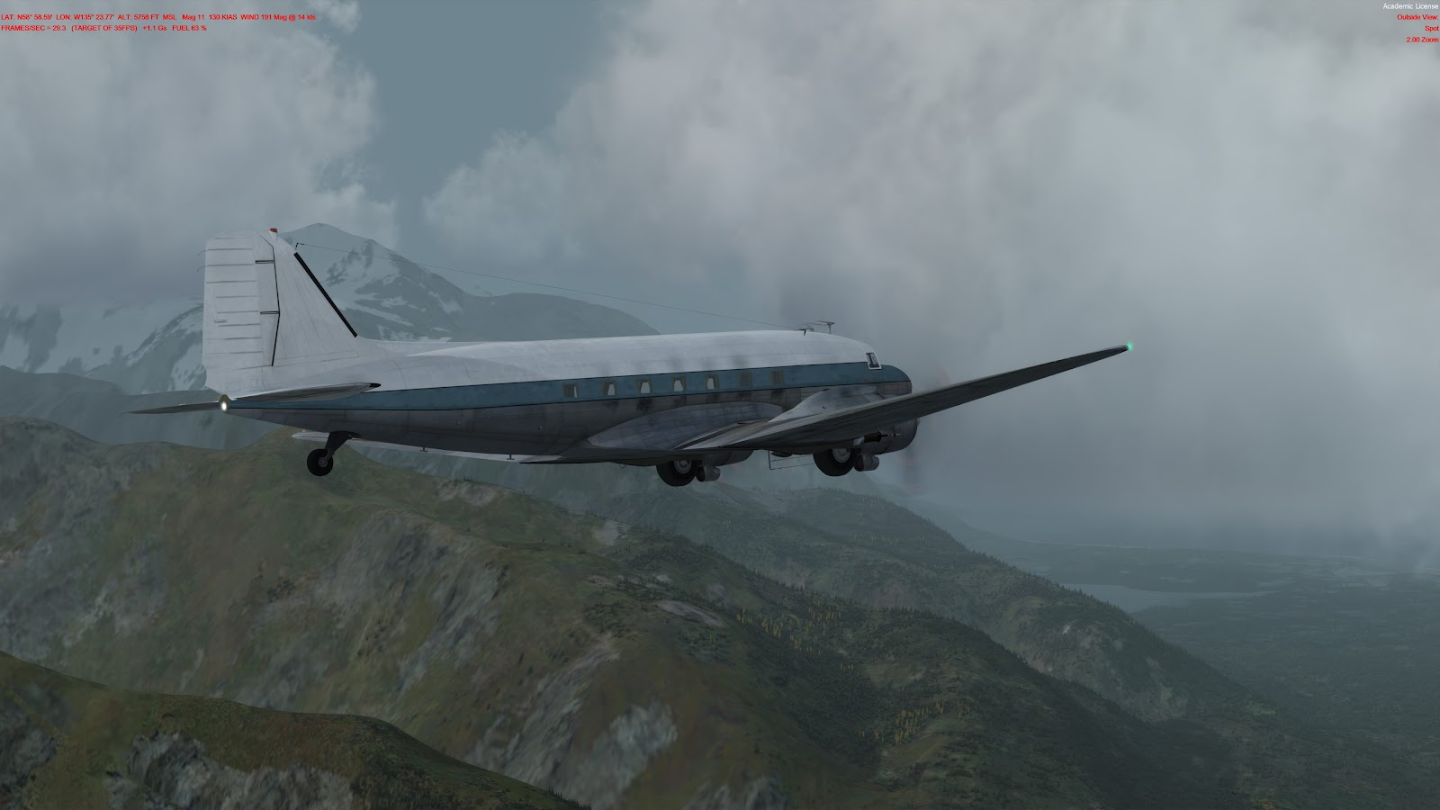 DC-3 for P3D - The A2A Simulations Community
