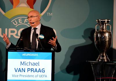 """KNVB-voorzitter krijgt storm aan kritiek over zich na tweet over EL-finale en reageert: """"Ik hou van lege stadions"""""""