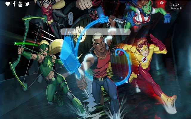 Young Justice HD Wallpapers New Tab