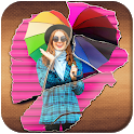 3D overlay Photo Effect icon