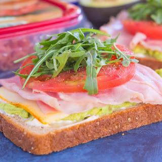Ham and Avocado Open-Faced Sandwich Recipe