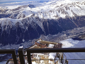 Photo: Chamonix from top of Augille du Midi