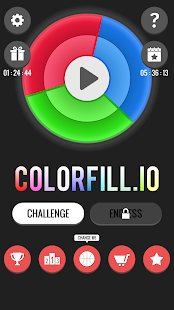 Colorfill.io - Fill the Color Wheel- screenshot thumbnail
