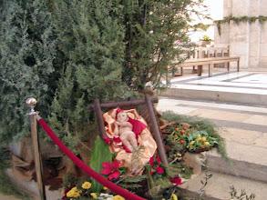 Photo: Christmas manger at the church