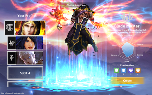 Dawnblade Mod Apk 0.8.6 (Unlimited Gold/Crystals) 4
