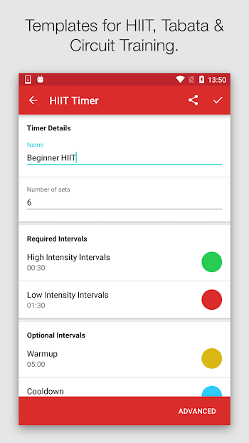 Seconds Pro Interval Timer- screenshot