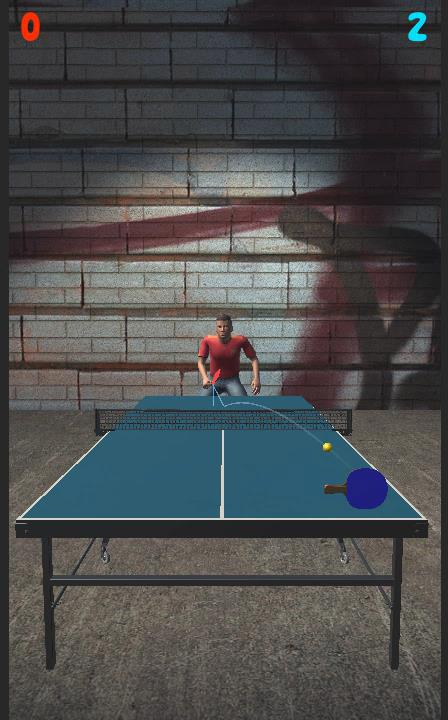 Ping Pong 3d Table- screenshot
