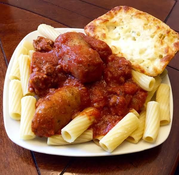 Meaty Italian Pasta Sauce (easy)