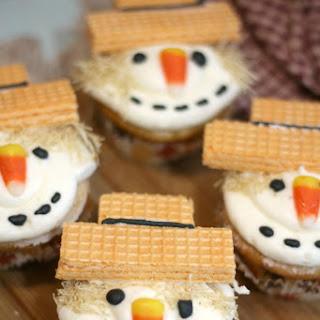 Super Cute Scarecrow Cupcakes