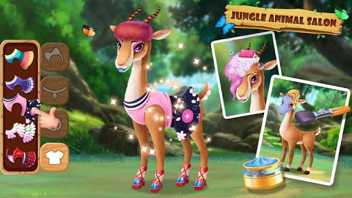 ud83eudd81ud83dudc3cJungle Animal Makeup 3.0.5017 screenshots 11