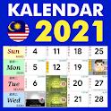 Kalendar Malaysia 2021 icon