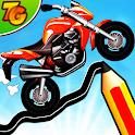 Road Draw 2: Moto Race icon