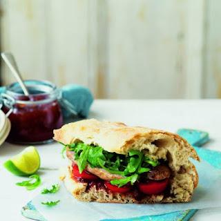 Posh Sausage Sandwich.