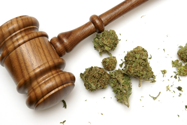 Dagga legalisation law marijuana gavel