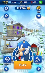 Sonic Dash APK screenshot thumbnail 11