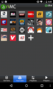ArkMC LITE UPNP Media Center- screenshot thumbnail